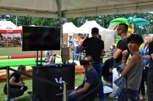 Piknik korporacyjny z wykorzystaniem wirtualnej rzeczywistości. Oculus Rift, HTC VIVE.