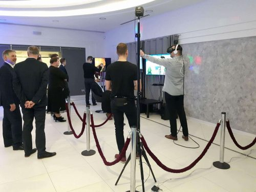 Impreza firmowa, integracja firmowa Oculus Rift, HTC VIVE.