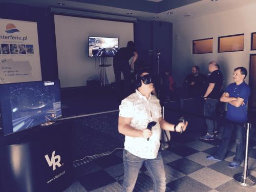 Event z wirtualną rzeczywistością na integracji firmowej KGHM