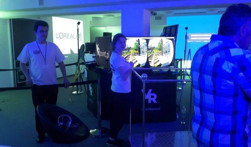 Impreza firmowa z wykorzystaniem wirtualnej rzeczywistości. Gogle HTC VIVE, Oculus Rift