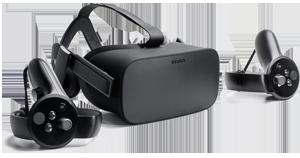 Wirtualna rzeczywistość Oculus Rift CV1 + touch