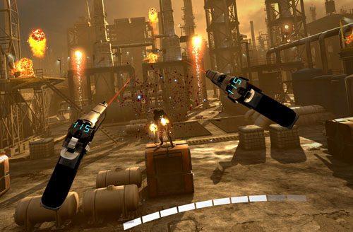 Wirtualna rzeczywistość Shootery